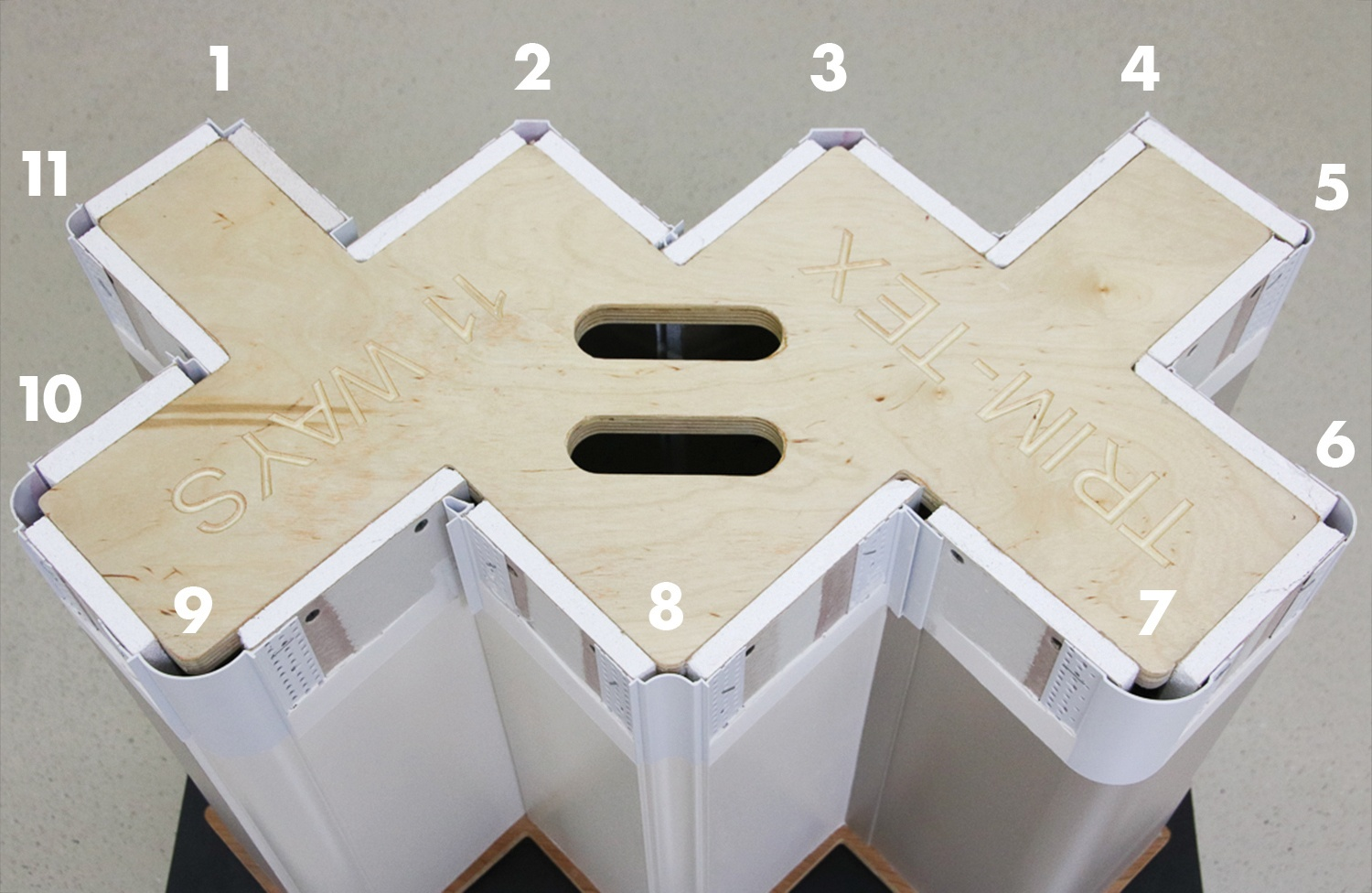 Explore all of the possibilities for finishing a corner with Trim-Tex.