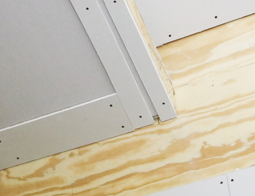 Once the proper Reveal Bead is selected, ensure the gap in the drywall is the correct size to fit the Reveal Bead.