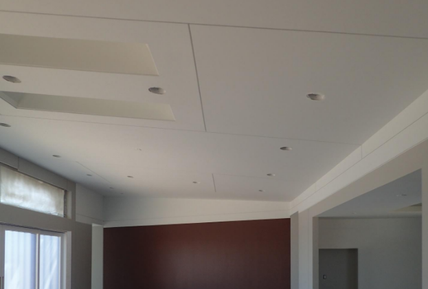 Reveal and shadow beads are used often in commercial construction to break up long runs of drywall while adding visual detail.