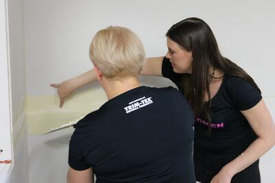 Women in Drywall: The Taping Queen Tours Trim-Tex