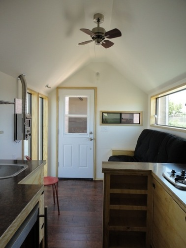 Even though tiny homes are extremely susceptible to corner cracking, it is no match for Trim-Tex Magic Corner.