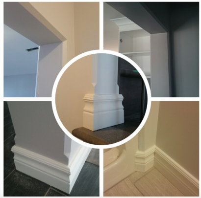 Trim-Tex 350 Chamfer produces a crist look with great shadows.