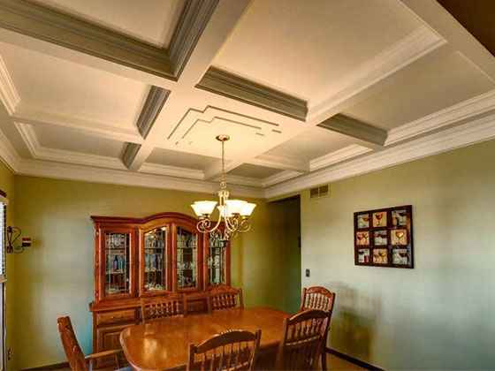 Trim-Tex products provide an affordable way to upgrade ceiling details.