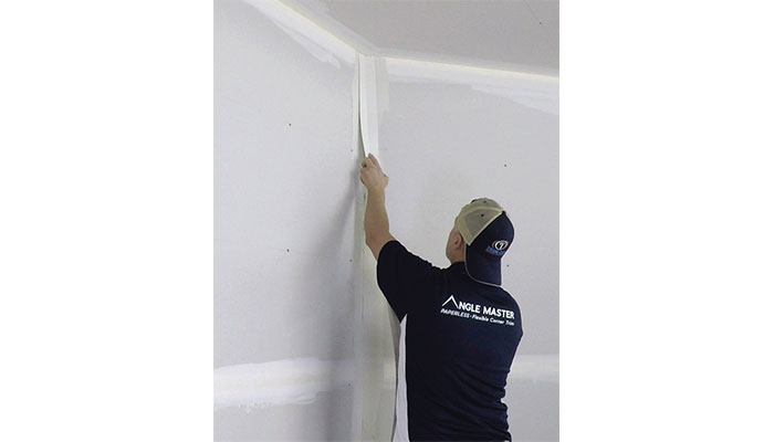 Trim-Tex Angle Master fits any angled corner, comes in a roll. and is great for long runs on soffits and vaults.