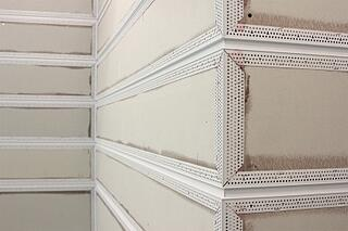 Trim-Tex Reveals are a great way to add interesting design elements to a bare wall.