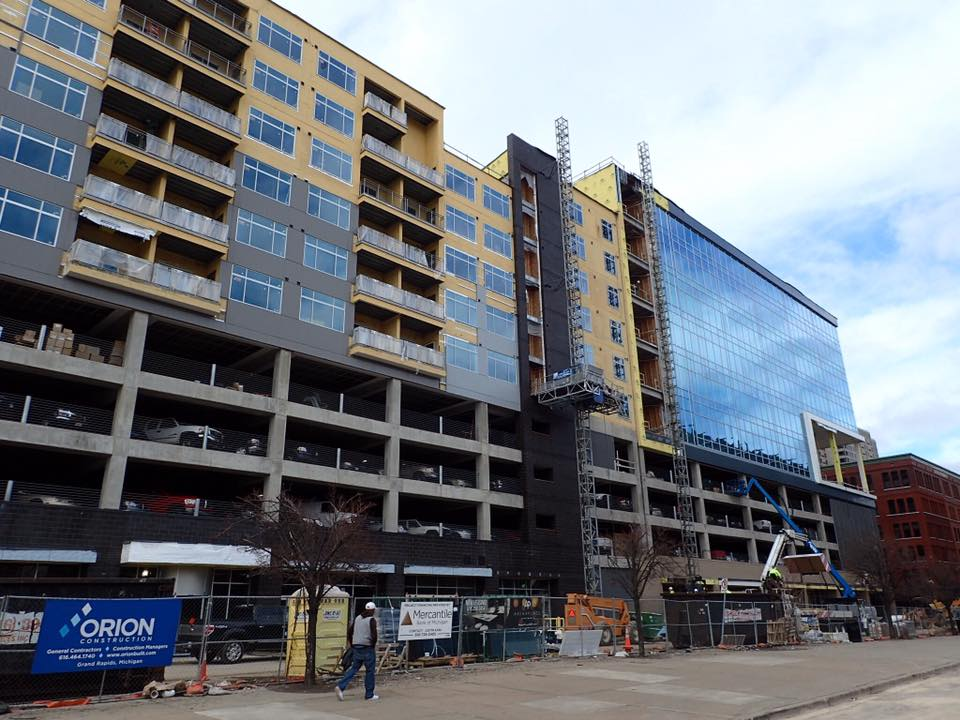 Preventing Drywall Cracks Against Ceilings in Mixed-Use Structures: Arena Place