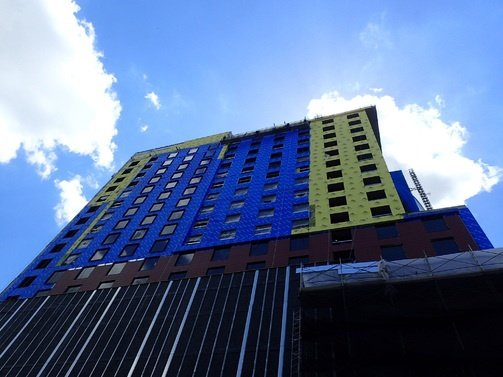 Trim-Tex Drywall Products were installed in the 19 story Cambria Hotel in Nashville.