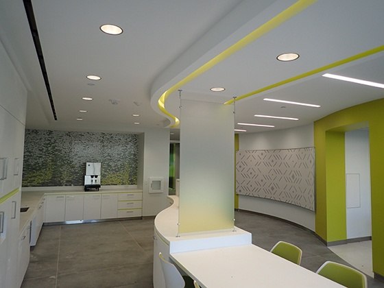 L Bead & Reveal Case Study: Converge Corporate Office