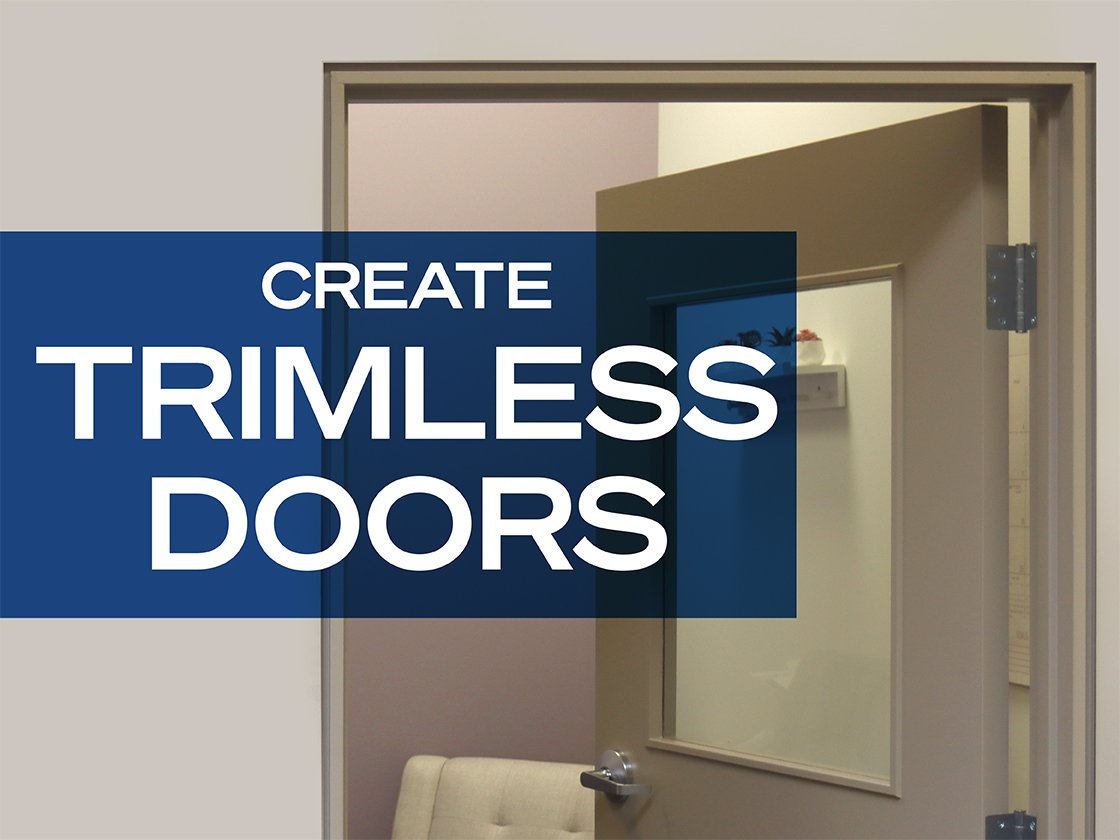 Create a Trimless Door with Architectural Z Shadow Bead