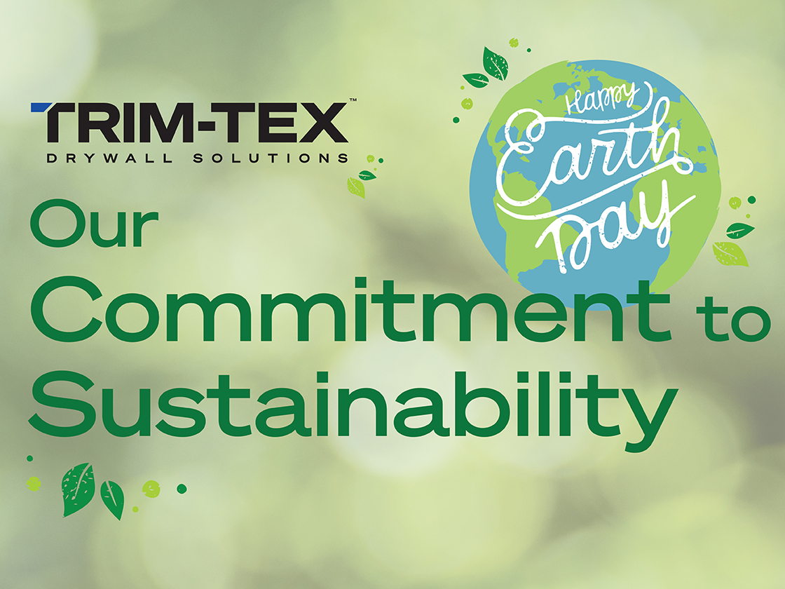 Trim-Tex's Commitment to Sustainability