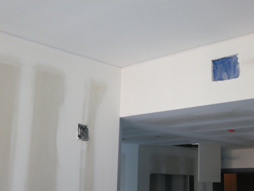Deflection Bead was installed at Johns Hopkins University to prevent cracking on inside corners as the building moves.