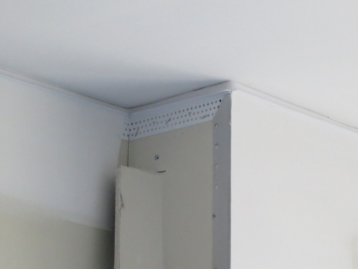Deflection Bead was installed in the dormitory at Johns Hopkins University to prevent cracking on inside corners as the building moves.