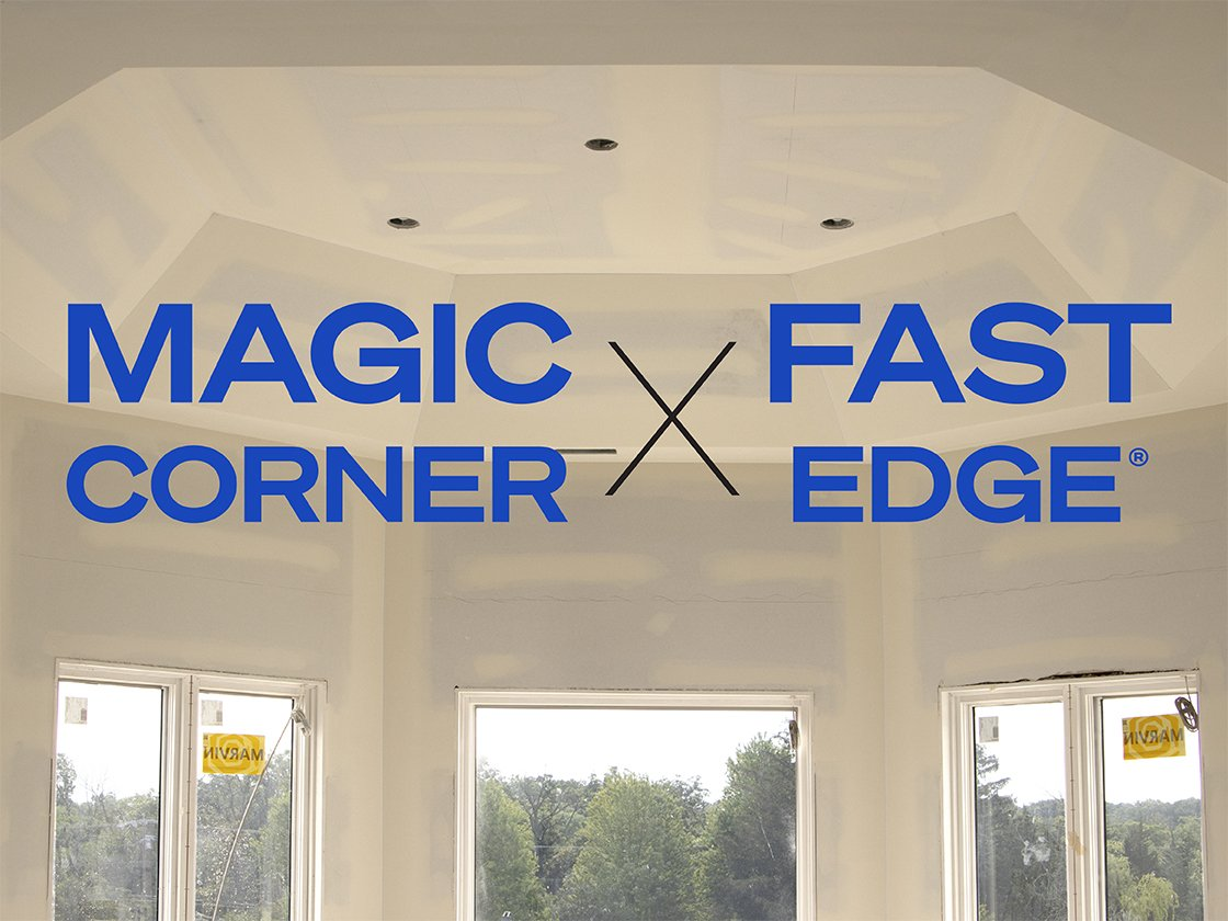 Combine Magic Corner & Fast Edge® for Top-Notch Tray Ceilings