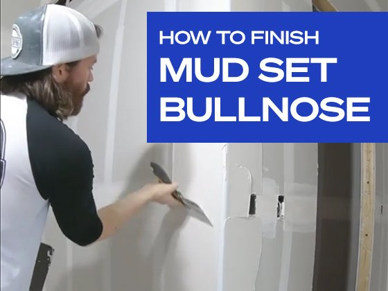 How to Finish Mud Set Bullnose Bead Like a Pro