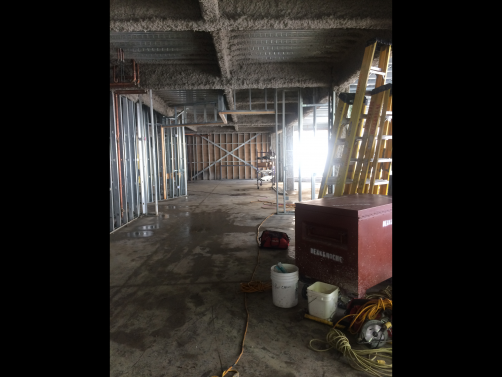 Tear Away Bead and 093V Expansion Bead was installed in a Northeastern Illinois University residence hall.