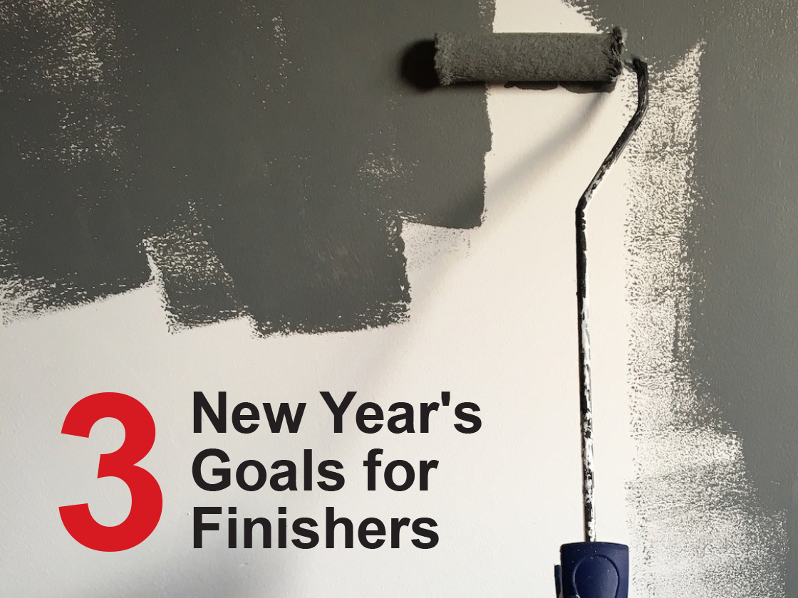 3 Great New Year's Goals for Finishers