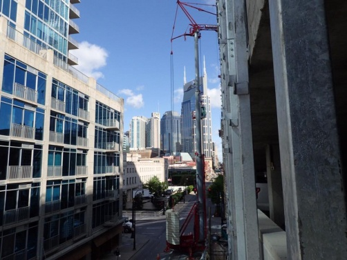 Deflection Bead and Super L Bead was used to finish the interior of the 33 story SoBro Tower in Nashville, TN.