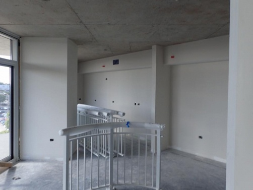 Deflection Bead was used to create a finished edge where the drywall meets the concrete deck in the SoBro Tower in Nashville, TN.
