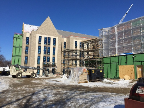 Trim-Tex products were installed at the Ottawa House at the University of Toledo.