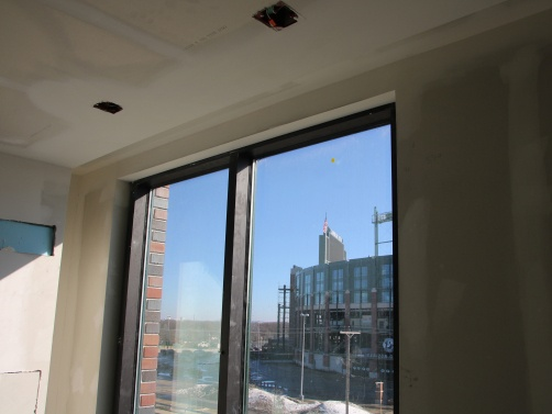 To save on labor and installation cost, the windows at Kohler Lodge features Flat Tear Away Bead.