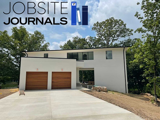 Jobsite Journals: Finishing a Modern House in Southern Illinois